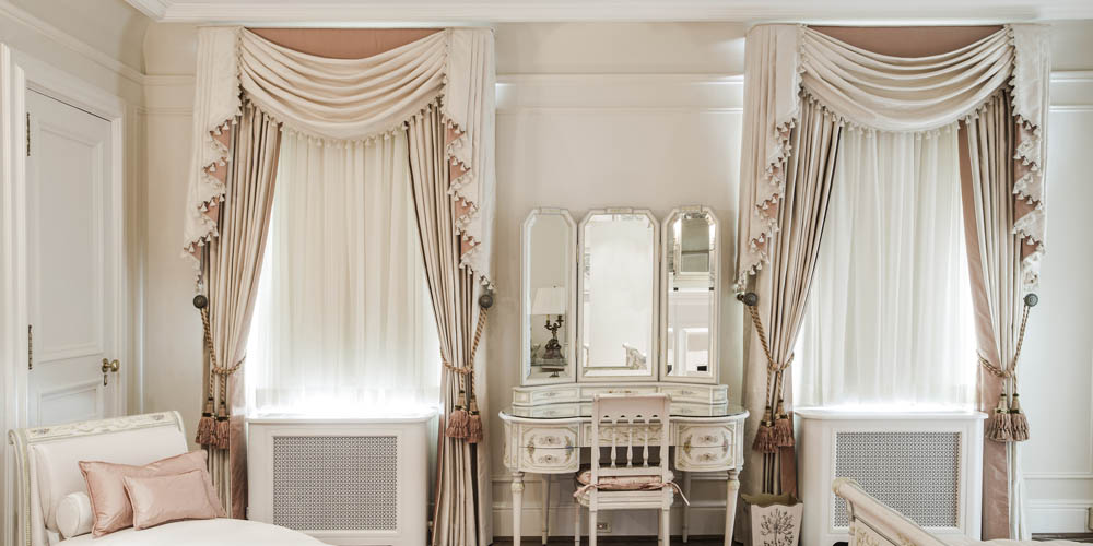 french style window treatments